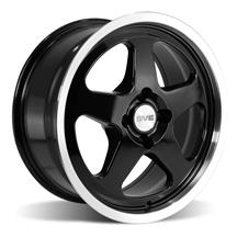 Mustang SVE Saleen SC Style Wheel - 17X9 Black (79-93)