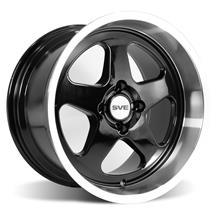 Mustang SVE Deep Dish Saleen SC Style Wheel - 17x10  - Black (79-93)