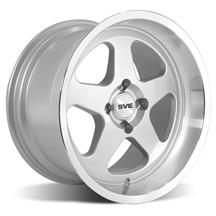 Mustang SVE Saleen SC Style Wheel - 17x10  - Silver (79-93)