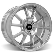 Mustang Deep Dish Fr500 Wheel - 17X10.5 Chrome (94-04)