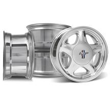Mustang Pony Wheel & Center Cap Kit - 17x8 Chrome (79-93)