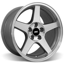 Mustang 03 Cobra Wheel - 17X9 Machined (94-04)