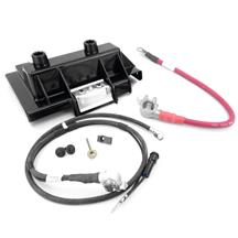 Mustang Battery Tray & Cable Kit (86-93) 5.0
