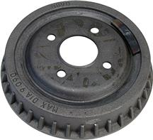 Mustang Rear Brake Drum - 4 Lug - Finned (79-93) 2.3/5.0