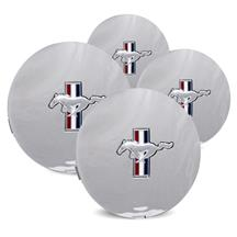Mustang Pony Wheel Center Cap Kit Chrome (91-93)