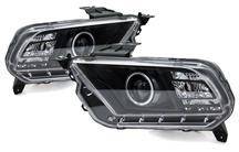 Mustang SVE Black Ccfl Halo Projector Headlight Kit (10-12)