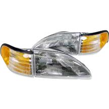 Mustang SVE Headlight Kit with Amber Sidemarkers (94-98)