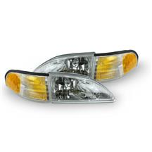 Mustang SVE Cobra Headlight Kit w/ Amber Sidemarkers (94-98)