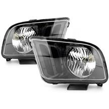 Mustang SVE Headlight Kit Gloss Black (05-09)