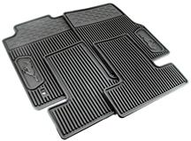 Mustang Rubber Floor Mats with Pony Logo (05-09)