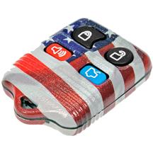 Mustang American Flag Key Fob Case (99-09)