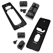 Mustang Window Switch & Switch Cover Kit (87-93) Convertible