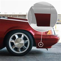 Mustang Lower Front Fender Spat - RH (91-93)