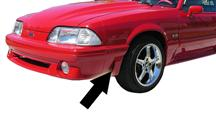 Mustang Front Fender Extension - LH (91-93)