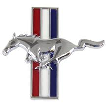 Mustang Running Pony Fender Emblem Badge Driver's Side (LH) (94-03)