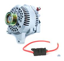 Mustang SVE 130 Amp Alternator & Power Wire Kit (96-98)