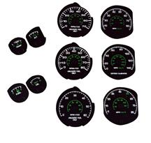 Mustang Factory Black Face Gauge Kit (79-82)