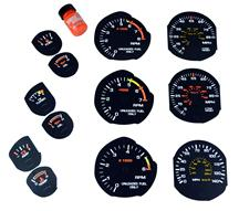 Mustang Factory Black Face Gauge Restoration Kit (83-86)