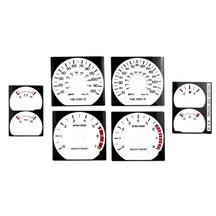 Mustang White Face Gauge Kit (99-04) GT/V6
