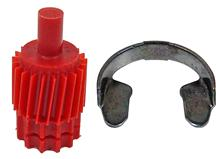Mustang 21 Tooth Speedometer Gear & Clip Kit (83-95)