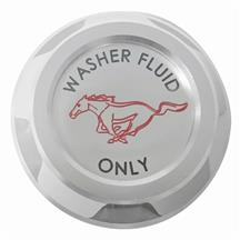 Mustang Washer Fluid Reservoir Cap Billet Aluminum  (15-18)