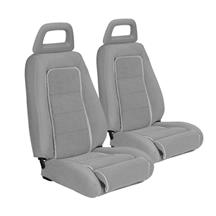Mustang TMI Sport Seat Upholstery Charcoal Gray (1984) Hatchback