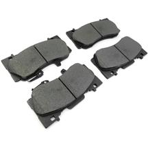 Mustang Front Brake Pads - Stock Replacement  - Base GT/EcoBoost PP (15-17)