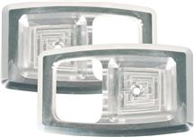 UPR Mustang Inner Door Handle Bezels Billet  (79-93) 1052-01
