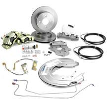 Mustang 4-Lug Rear Disc Brake Conversion (87-92)