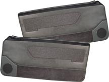 Mustang Acme Deluxe Door Panels for Convertible  w/ Power Windows Smoke Gray (88-89)