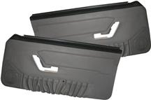 Mustang TMI Deluxe Door Panels for Convertible   w/ Power Windows Opal Gray (1993)