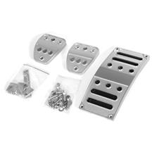 Mustang Billet Pedal Kit - Manual (05-17)