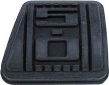 Mustang 5.0L Logo Clutch Pedal Pad, 5 Speed (79-93)