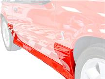 Cervini Mustang 93 Cobra Style Side Skirts (87-93) 4335