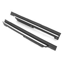 Mustang Convertible Inner Quarter Window Belt Weatherstrip - Pair (83-89)