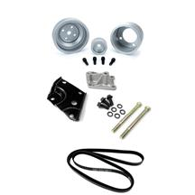 Mustang Off Road Accessory Drive Kit w/ Clear Pulleys (85-93) 5.0