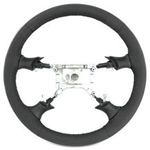 Mustang SVE FR500 Style Steering Wheel - Dark Charcoal Gray (99-04)
