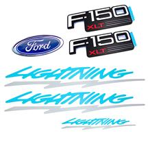 F-150 SVT Lightning Emblem Kit w/ Tailgate Decal (93-94)