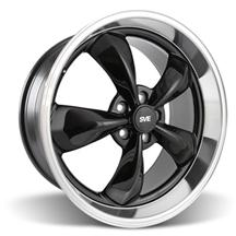 Mustang Bullitt Wheel - 20x10 Black w/ Mirror Lip (05-16)