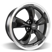 Mustang Bullitt Wheel - 20x8.5 Black w/ Mirror Lip (05-17)