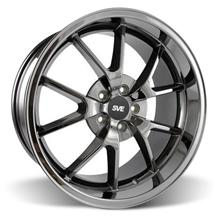Mustang FR500 Wheel - 20x10 Black Chrome (05-17)