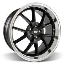 Mustang FR500 Wheel - 20x10 Black w/ Mirror Lip (05-17)