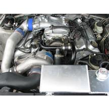 Mustang Vortech V-2 Non-Intercooled Tuner Supercharger System - Polished (2001)