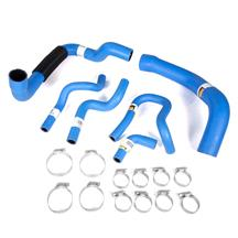 Mustang Continental Super Hi-Miler Hose Kit Blue (86-93) 5.0