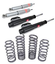 Mustang SVE Lowering Springs  w/ Kyb Gas-A-Just Shock & Strut Kit (87-93)