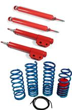 Mustang Eibach Drag Launch Spring & Lakewood Drag Shock & Strut Kit (79-93)