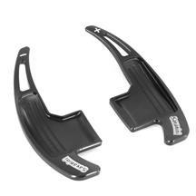 Mustang Automatic Paddle Shifter Extensions  - Black (15-17)