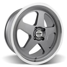 Mustang Saleen SC Wheel - 18x8.5 Gunmetal w/ Mirror Lip (79-93)