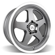 Mustang Saleen SC Wheel - 18x8.5 Gun Metal w/ Mirror Lip (94-04)