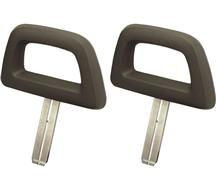 Mustang TMI Halo Headrest Pair Gray (84-86)